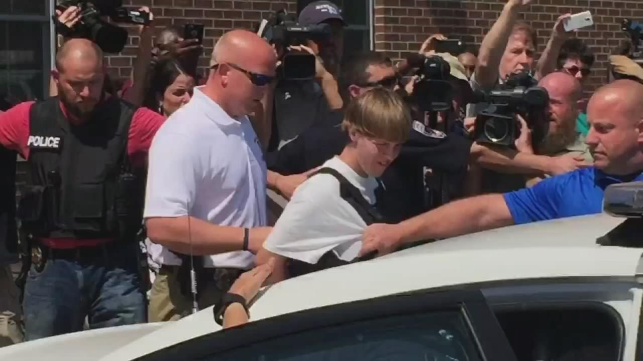 RAW VIDEO: Charleston church shooter in custody