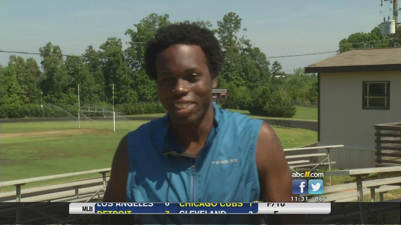 Saint Augs track star hopes to qualify for Olympics