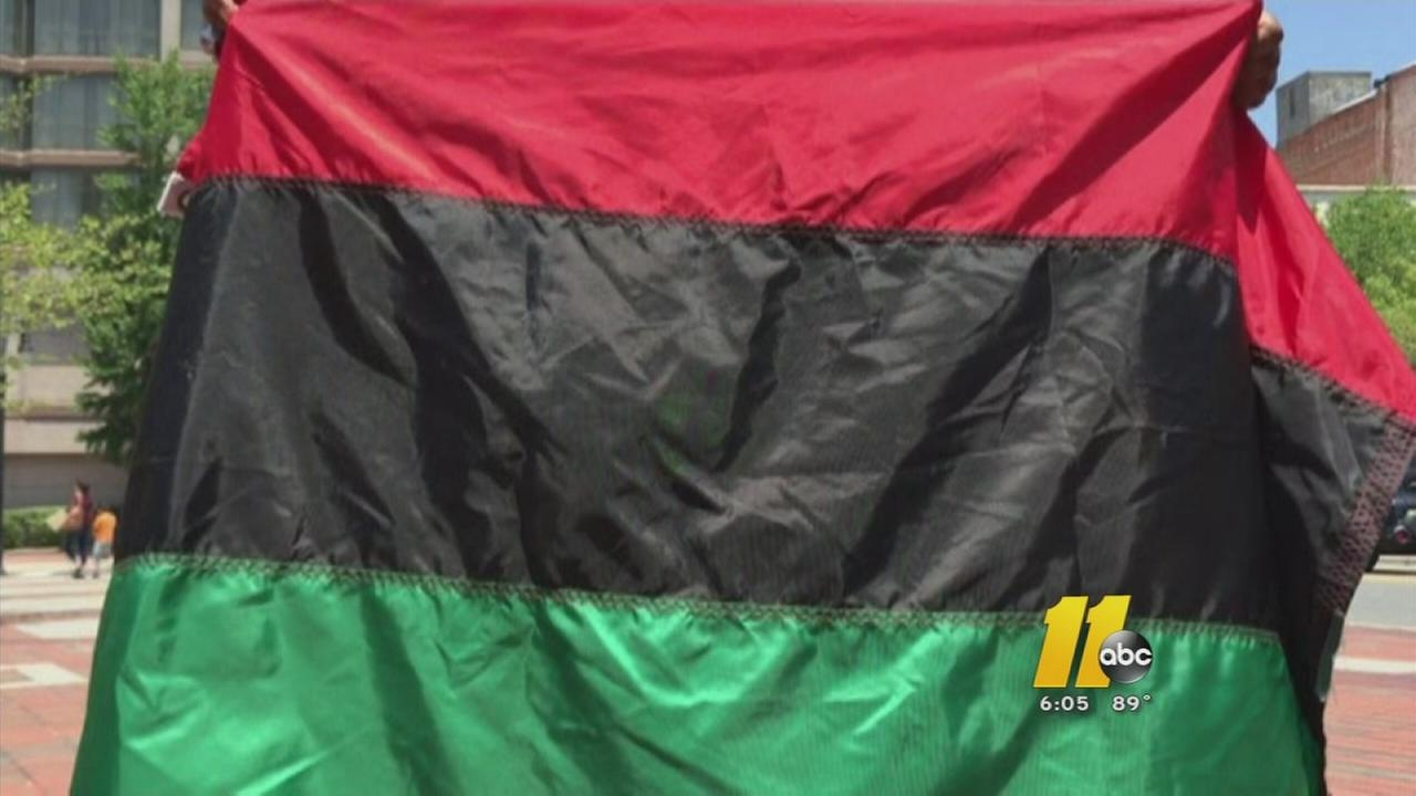Black heritage flag