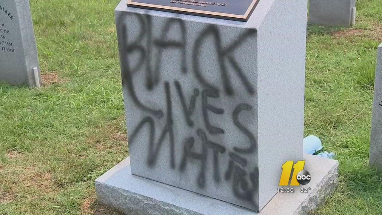 Confederate memorial in Durham vandalized