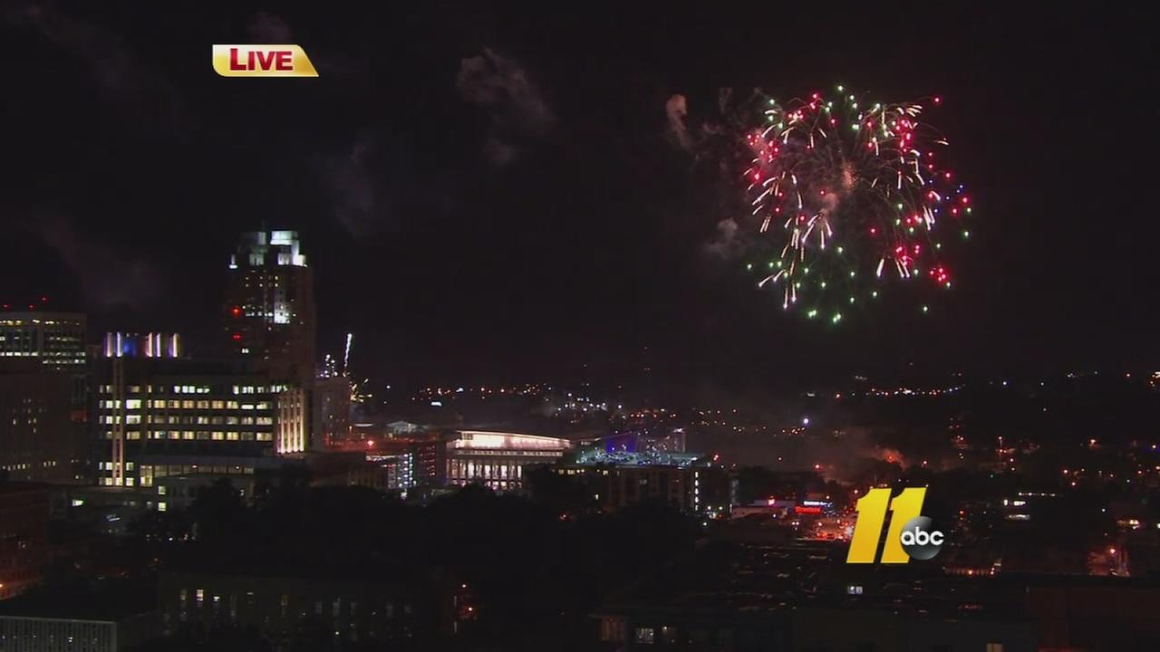 Raleigh marks the 4th with The Works presented by Liberty Mutual