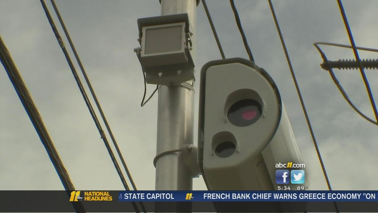 Fayetteville red light cameras