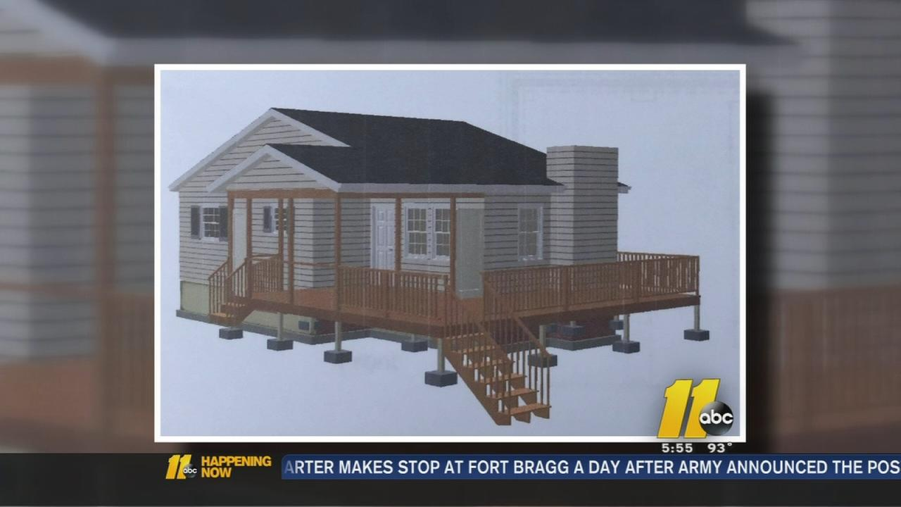Knightdale woman to finally get dream porch