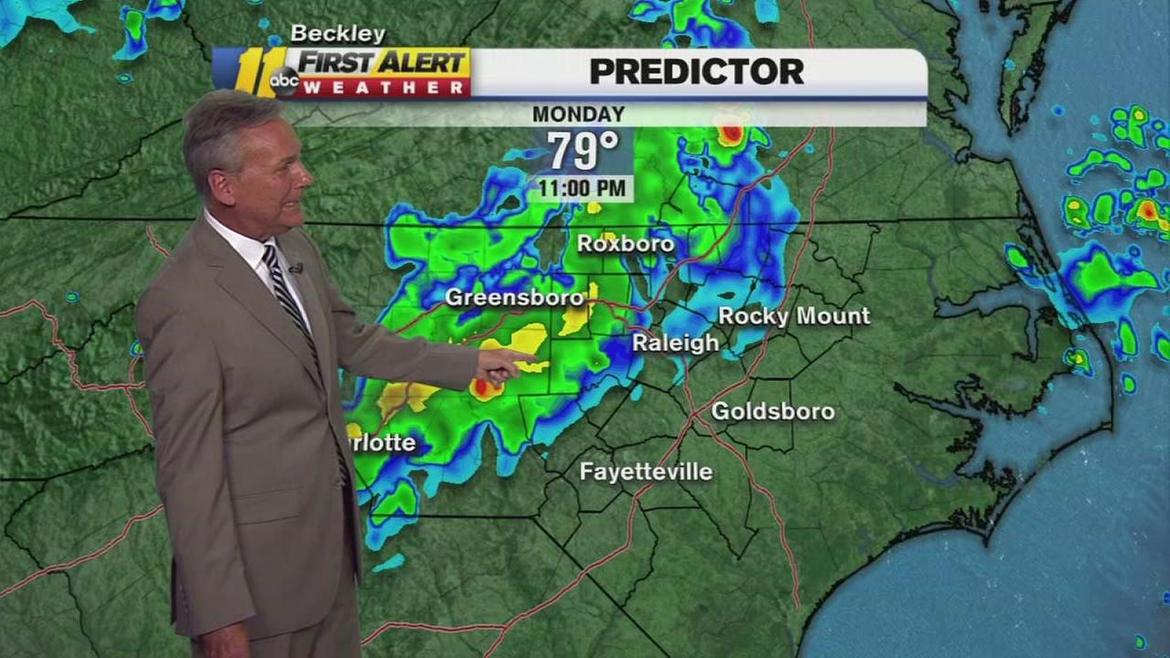 weather threat monday evening
