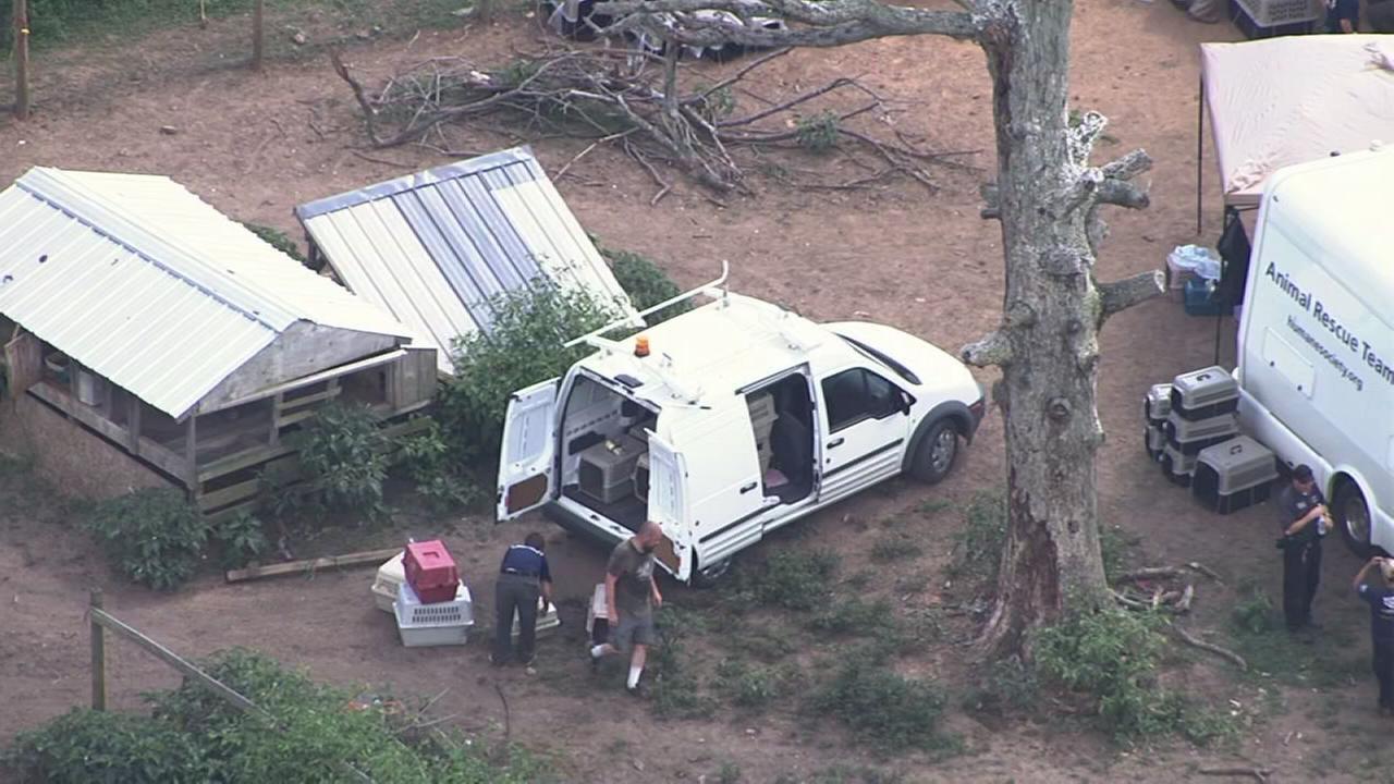 150 animals seized at Chatham County farm