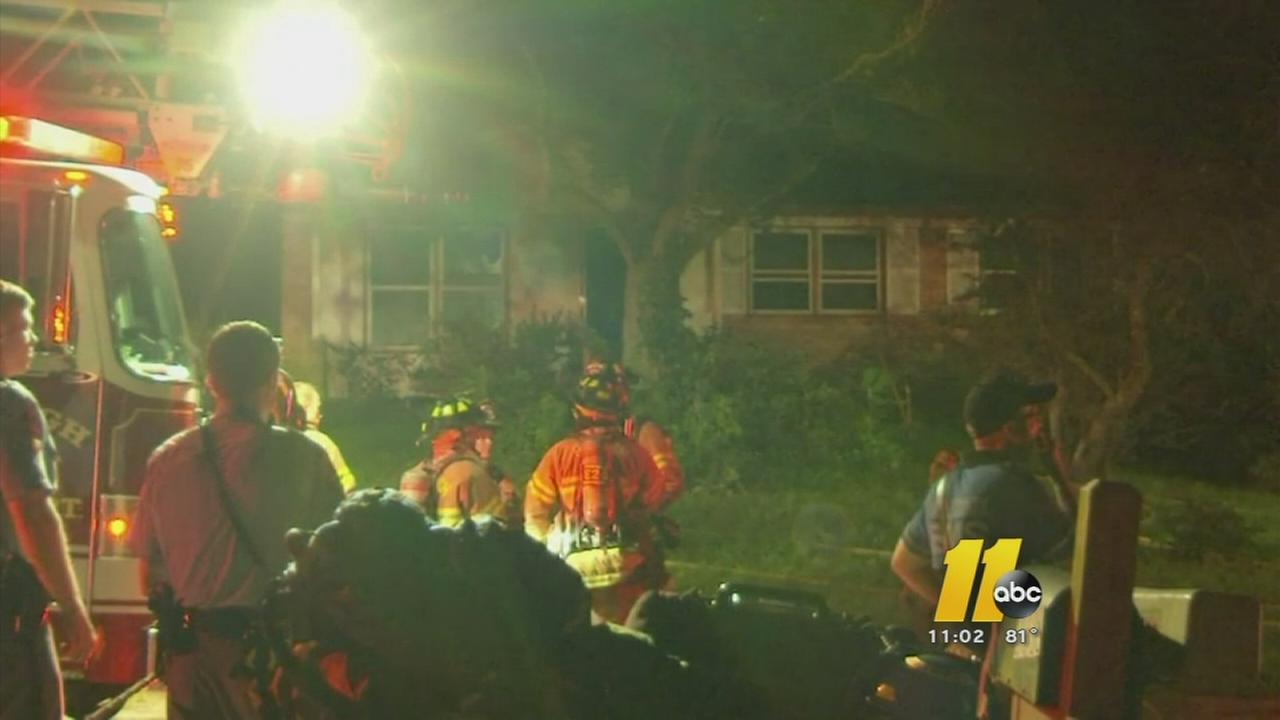 House fire in southeast Raleigh