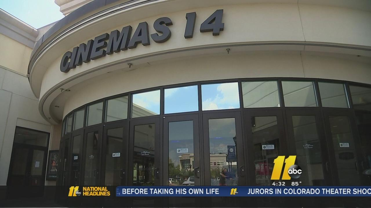 Local theaters step up security