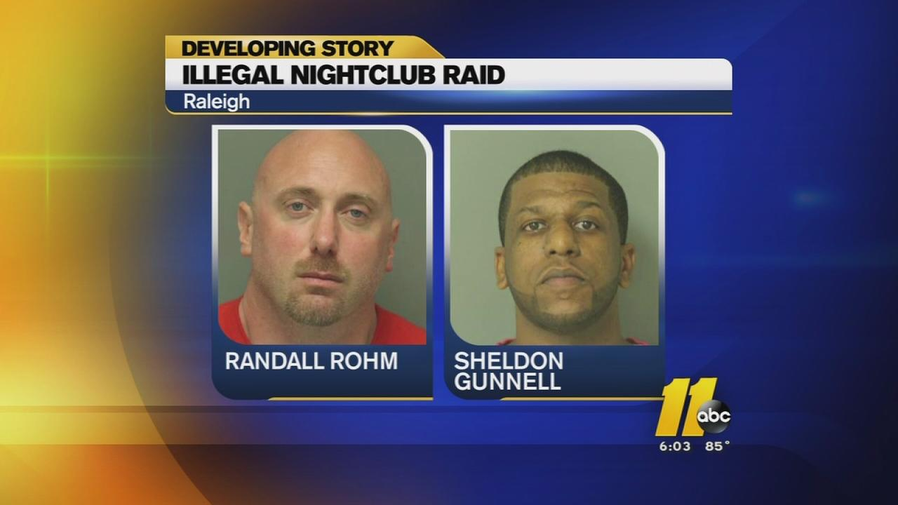 Seven arrested in Raleigh nightclub bust