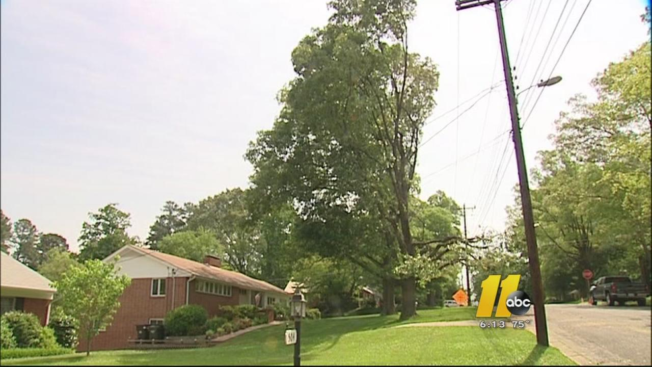 Durham residents upset at tree trimming
