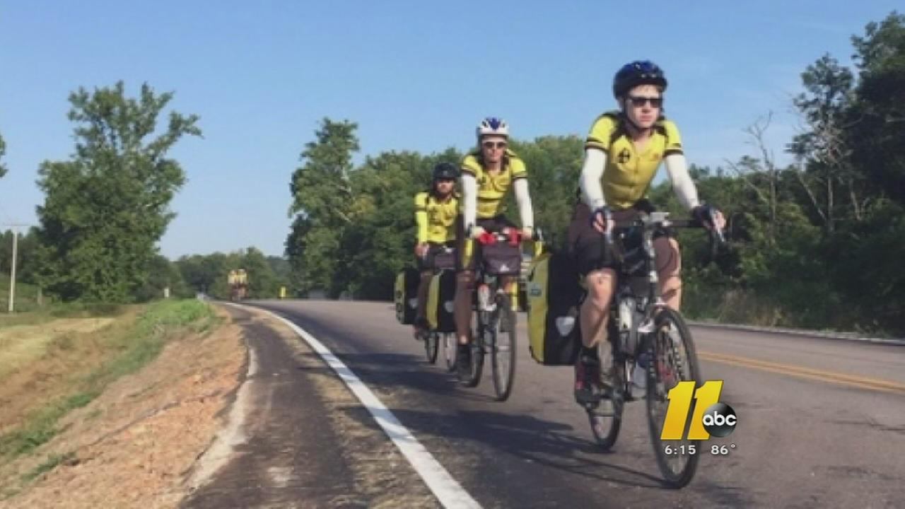 Orange County scouts biking across the country