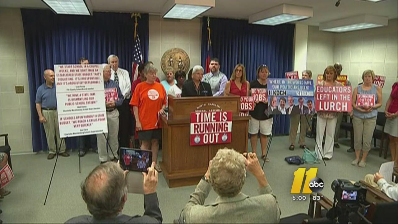 Educators push for state budget