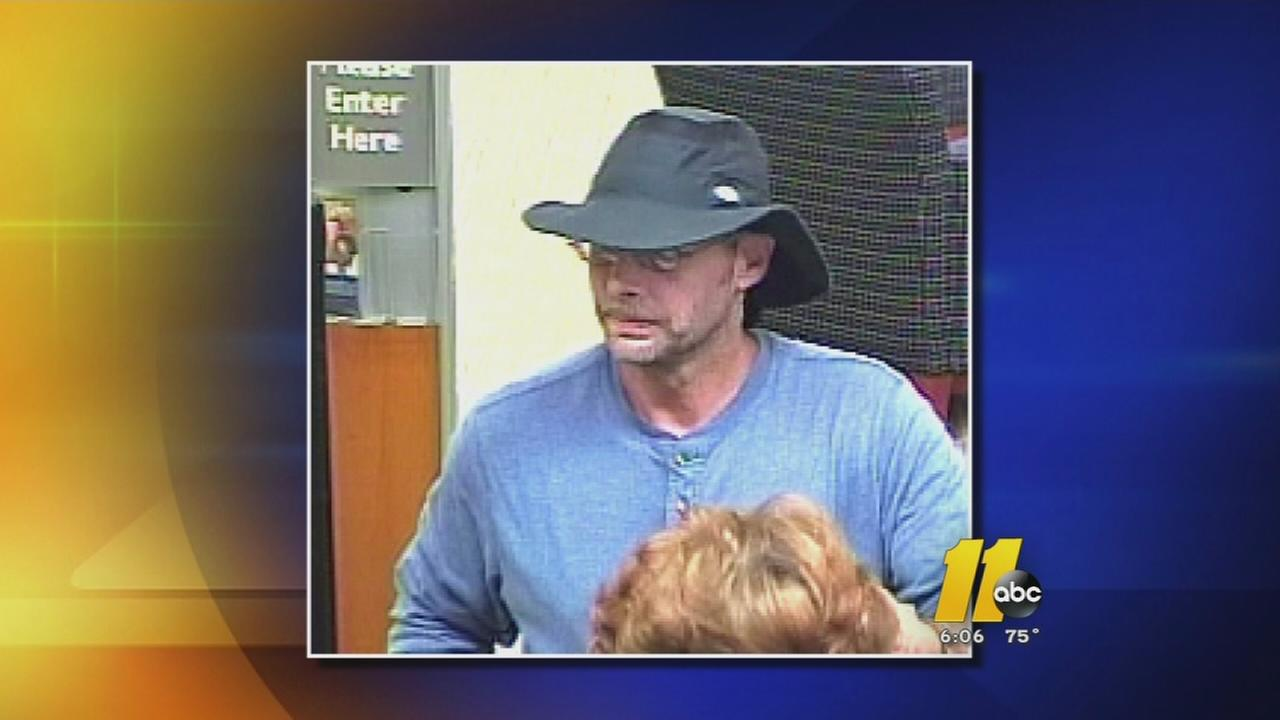 Police searching for suspected in bank robbery