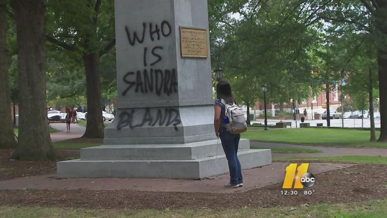 UNCs Silent Sam statue vandalized again
