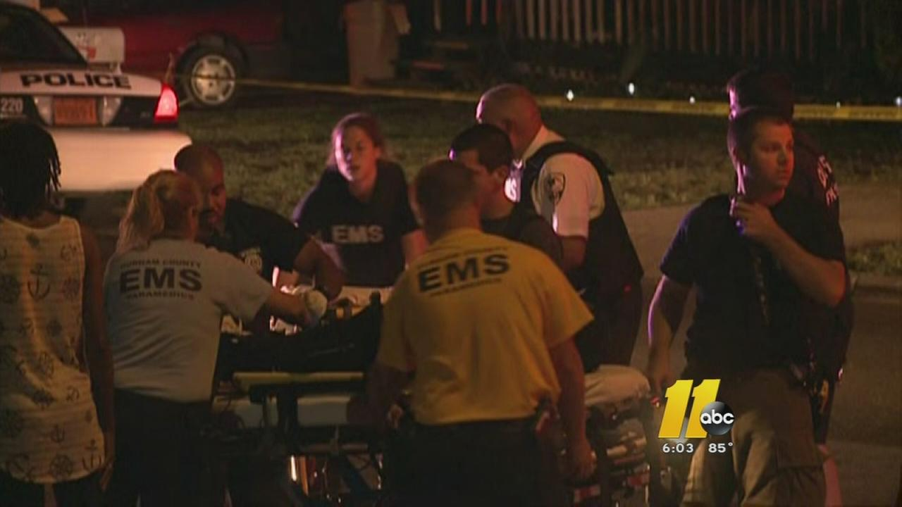 8 shot in Durham drive-by