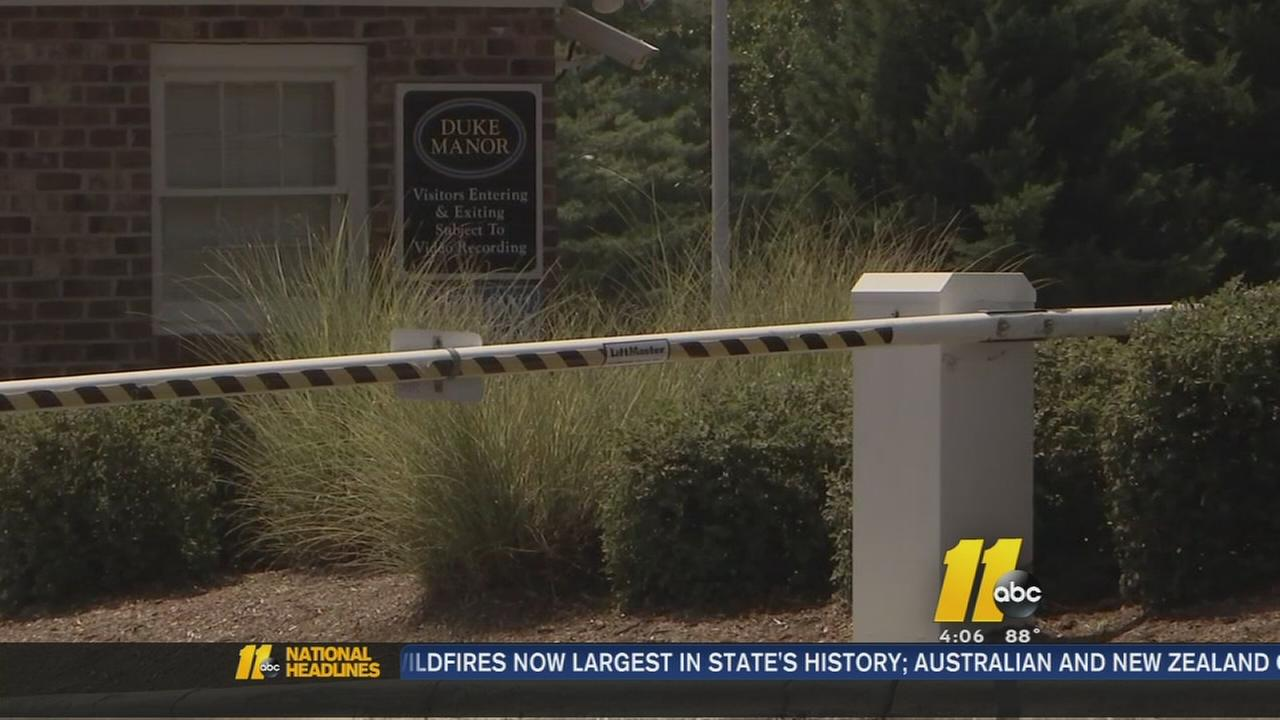 Durham police are investigating security guard shooting
