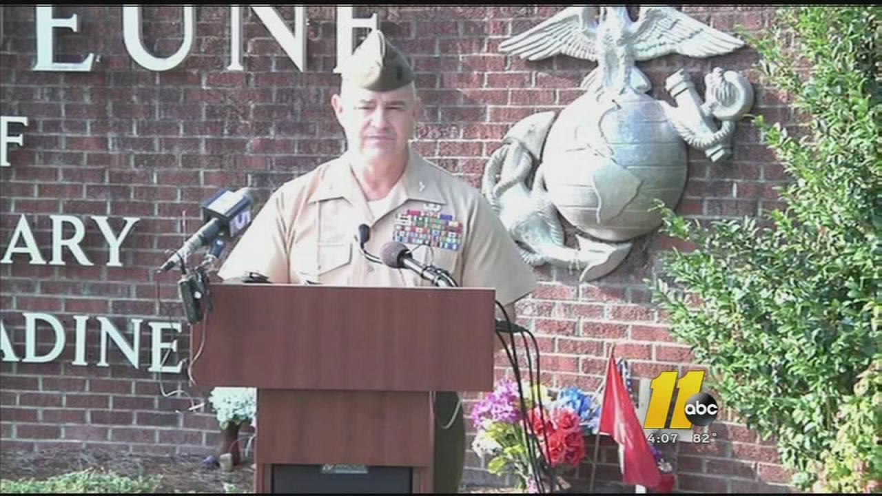 Marine killed in training exercise