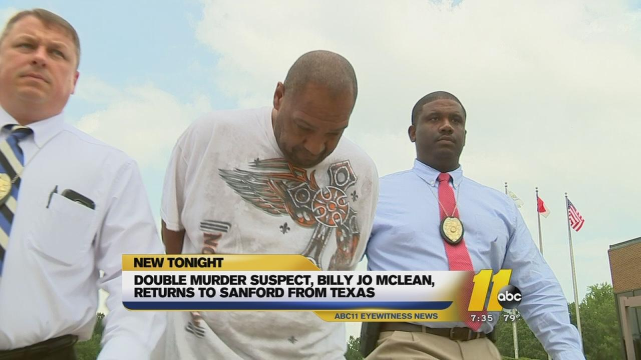 Accused killer Billy McLean returns to NC
