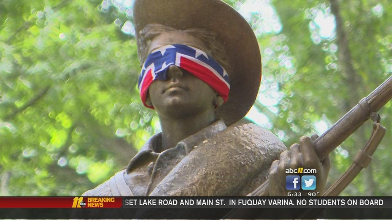 Silent Sam statue targeted again