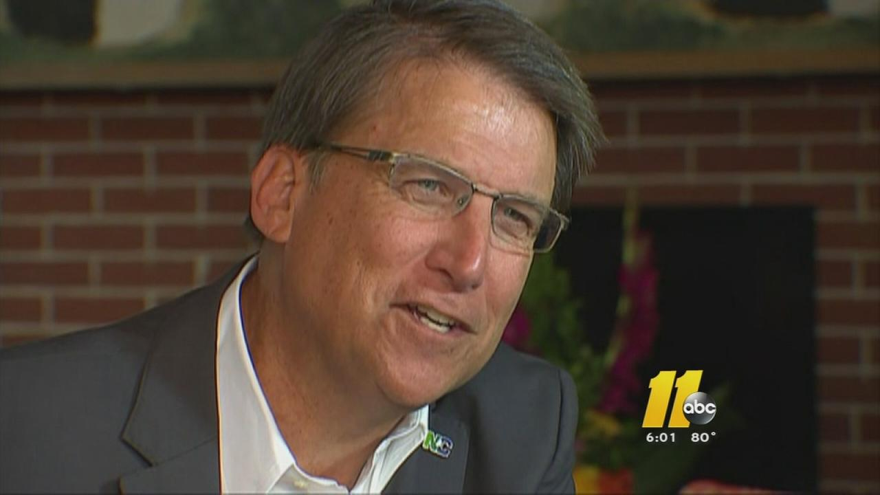 McCrory to sign state budget