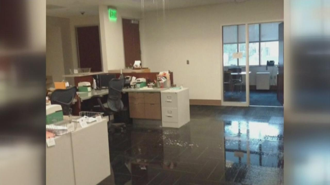 New Durham courthouse flooded