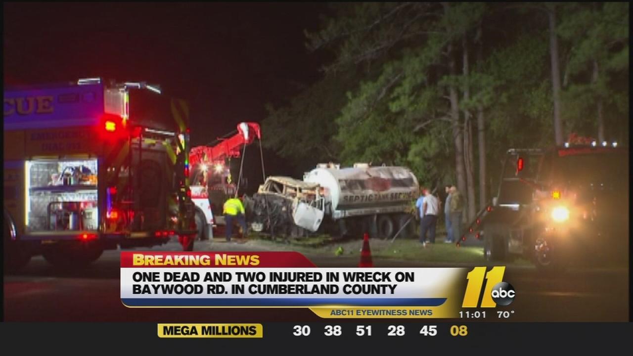 One killed in crash