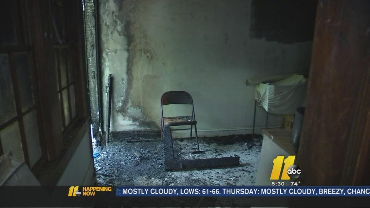 Arson suspected at Fayetteville church