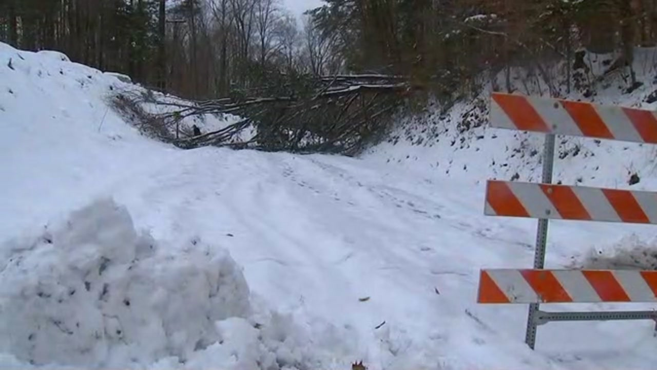 Secondary roads remain slick in Orange County