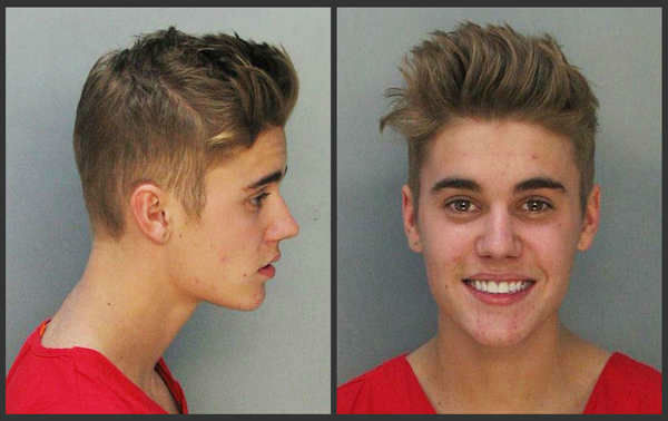 8 celebrities who look happy to get their mug shot taken