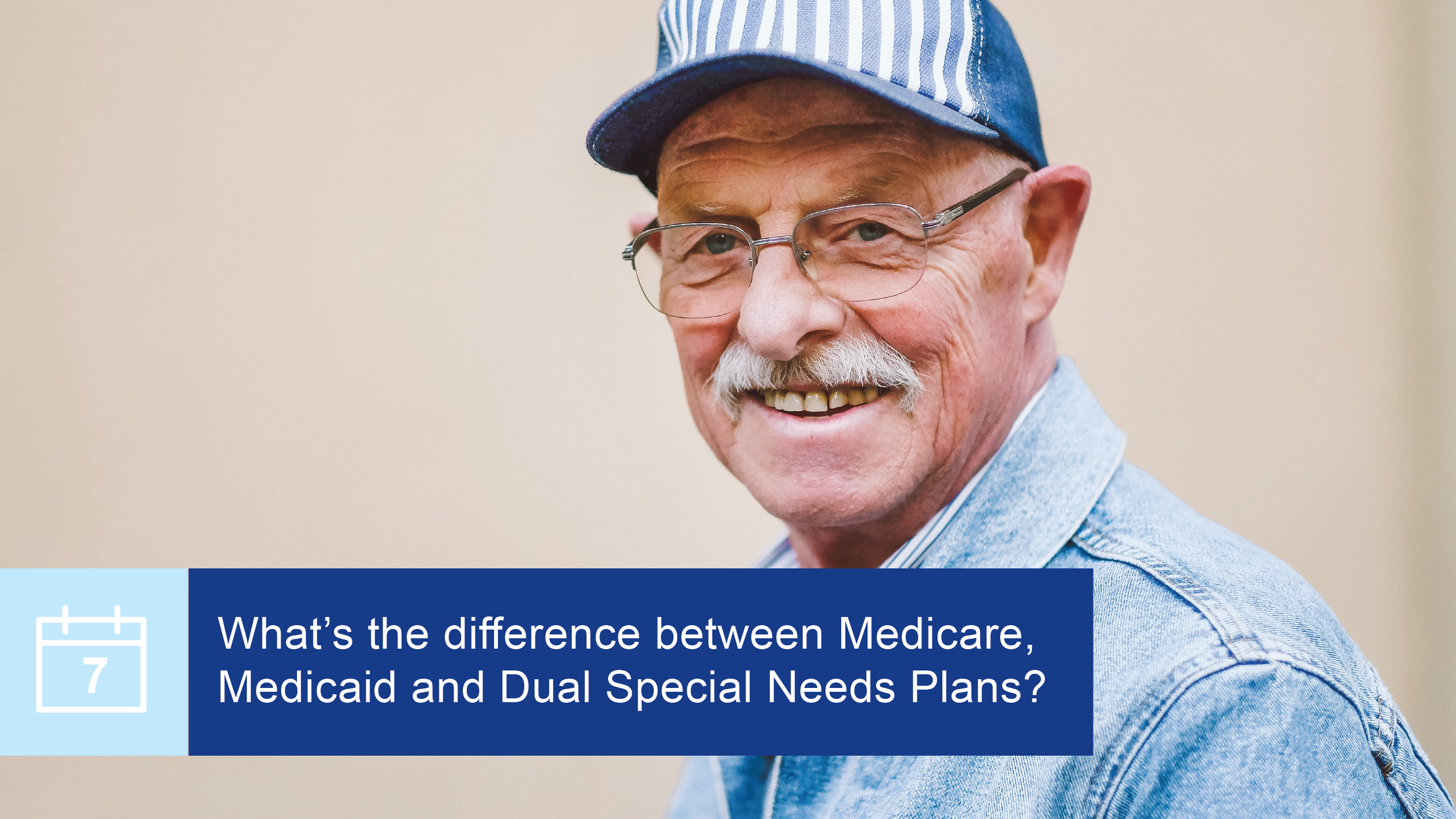 What's the difference between Medicare, Medicaid, and Dual Special Needs Plans?