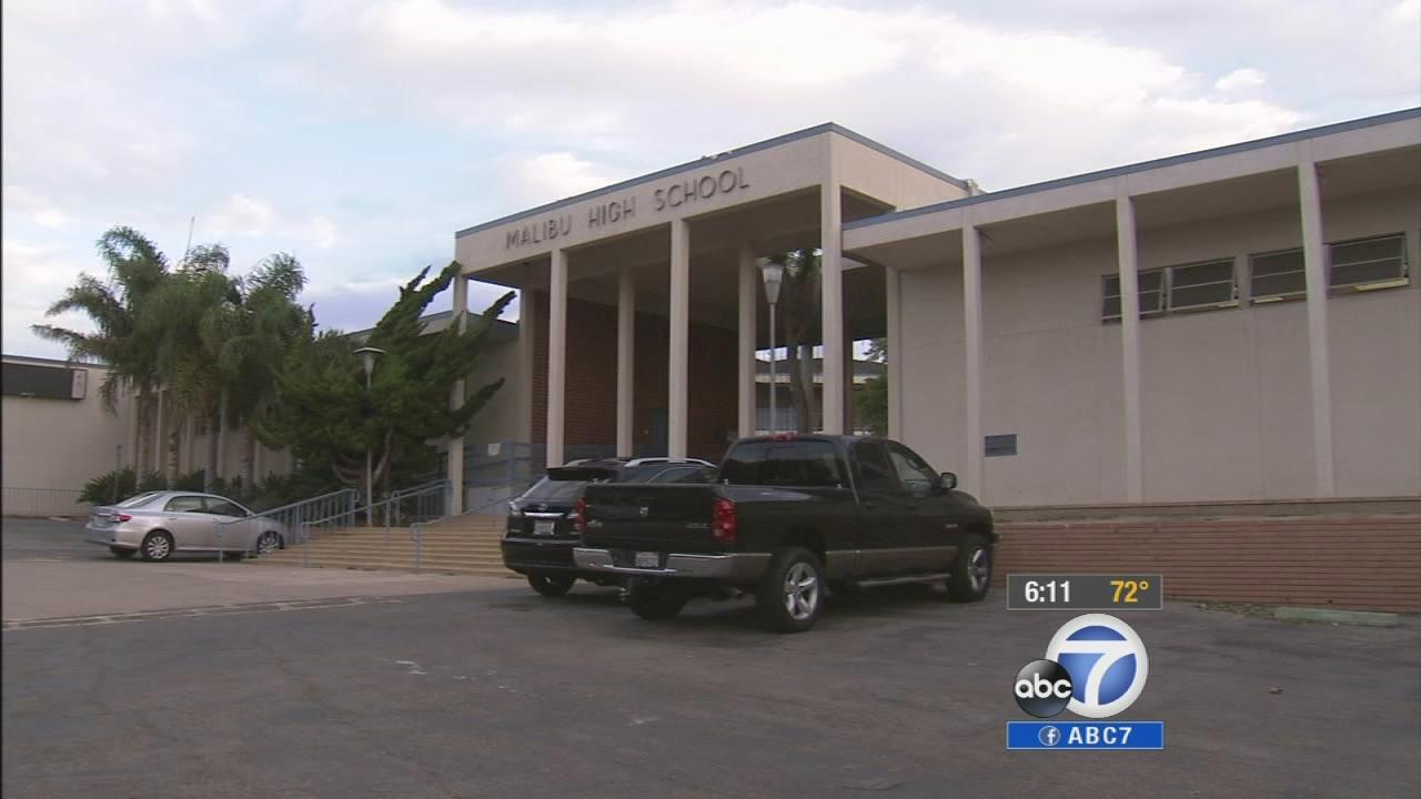 Malibu High School is seen in this October 2013 photo.