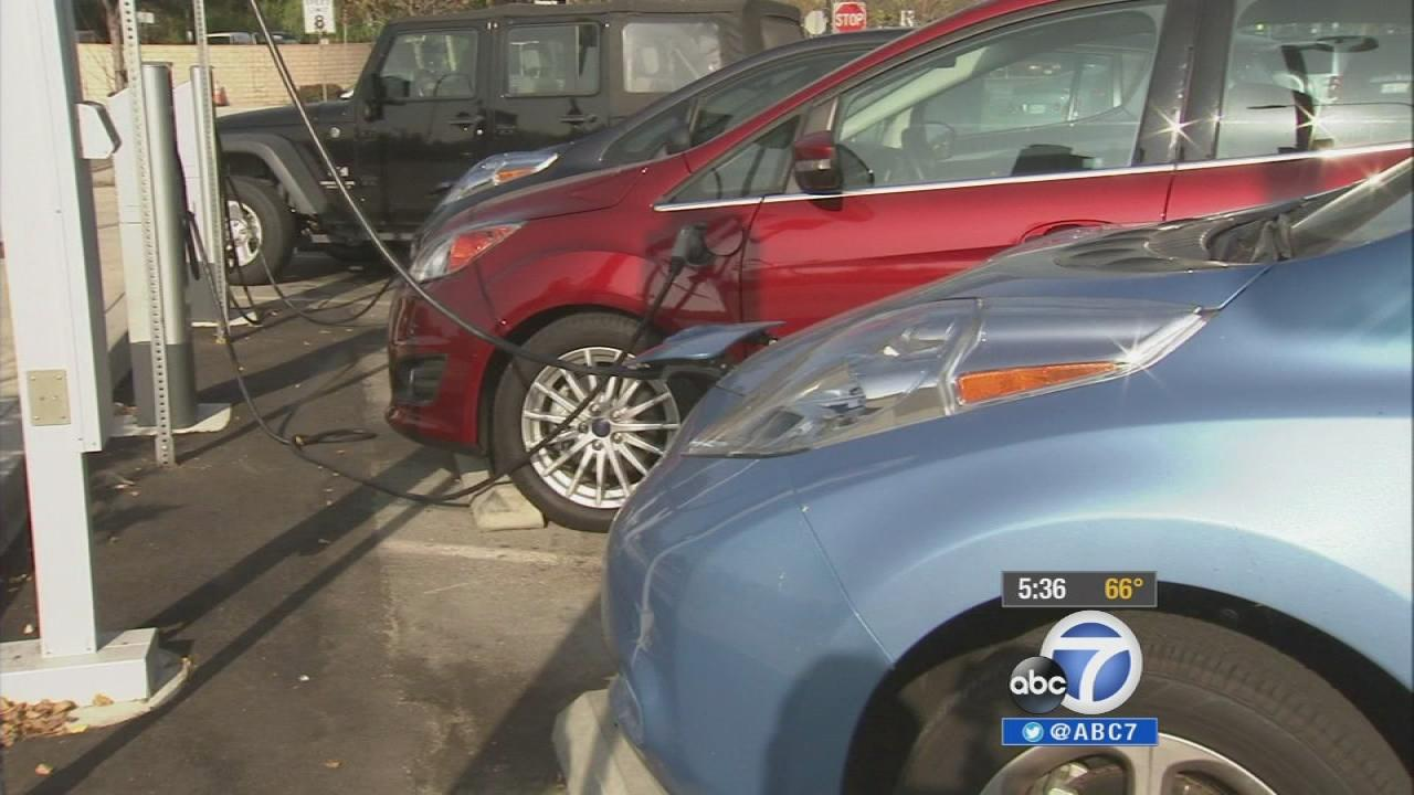 California joins a multi-state effort to curb air pollution and get more zero-emission vehicles on the road.