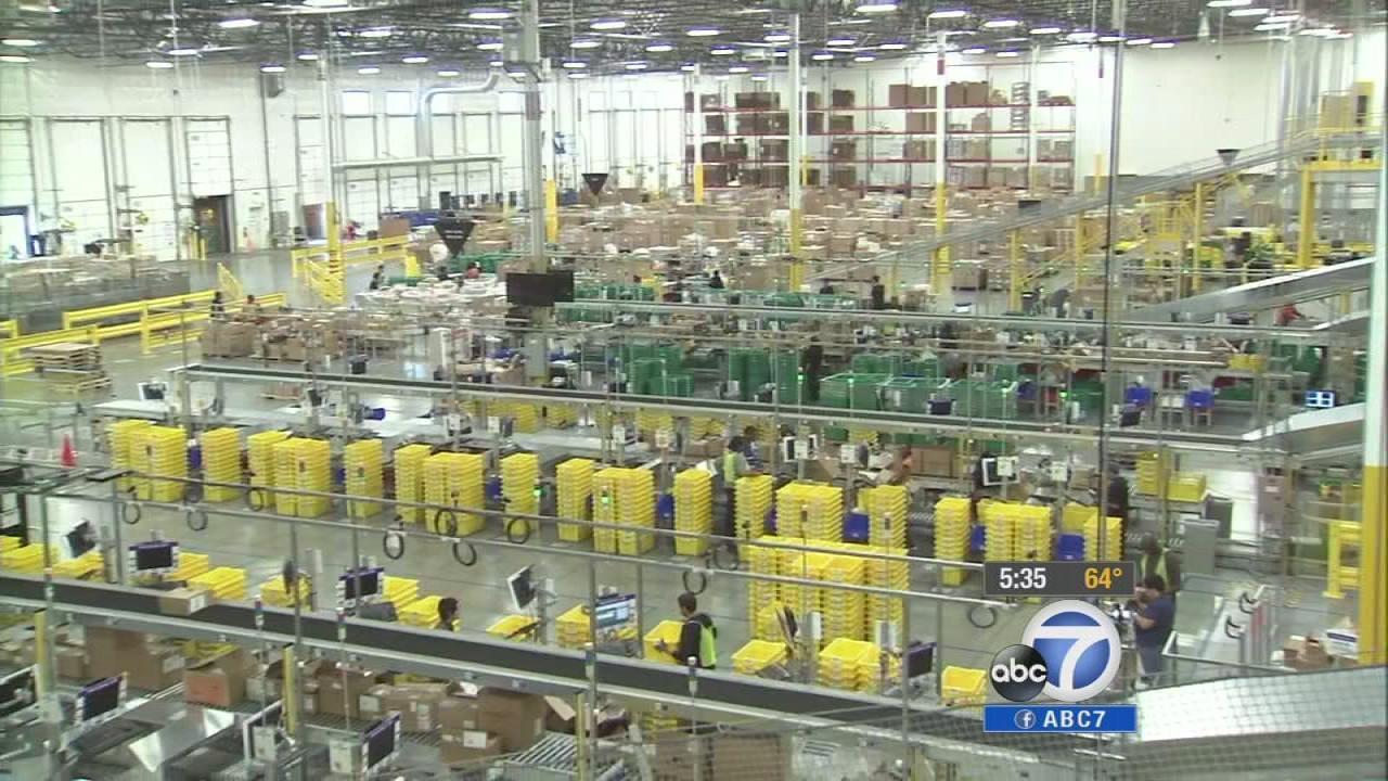 Amazon Finalizes Moreno Valley Center Plans 6abccom