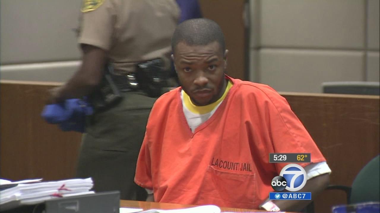 Dicarlo Bennett in court on November 18, 2013.
