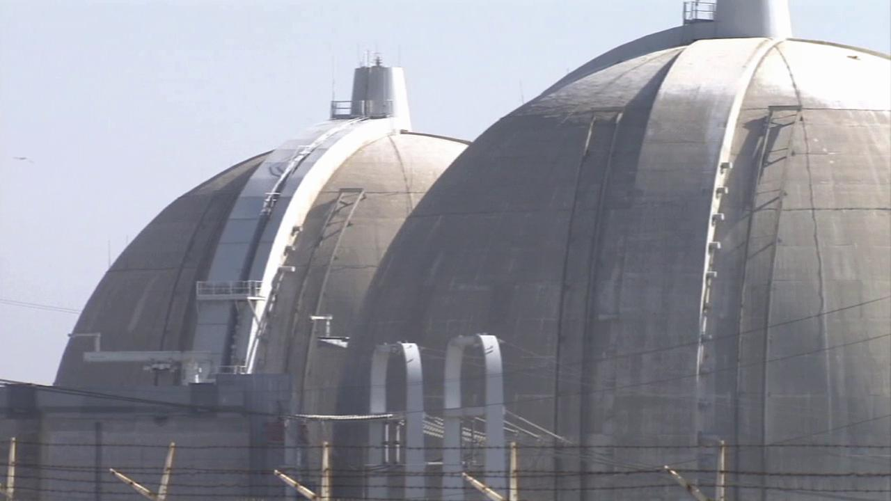 A close-up of the San Onofre Nuclear Generation Station is shown in this undated file photo.