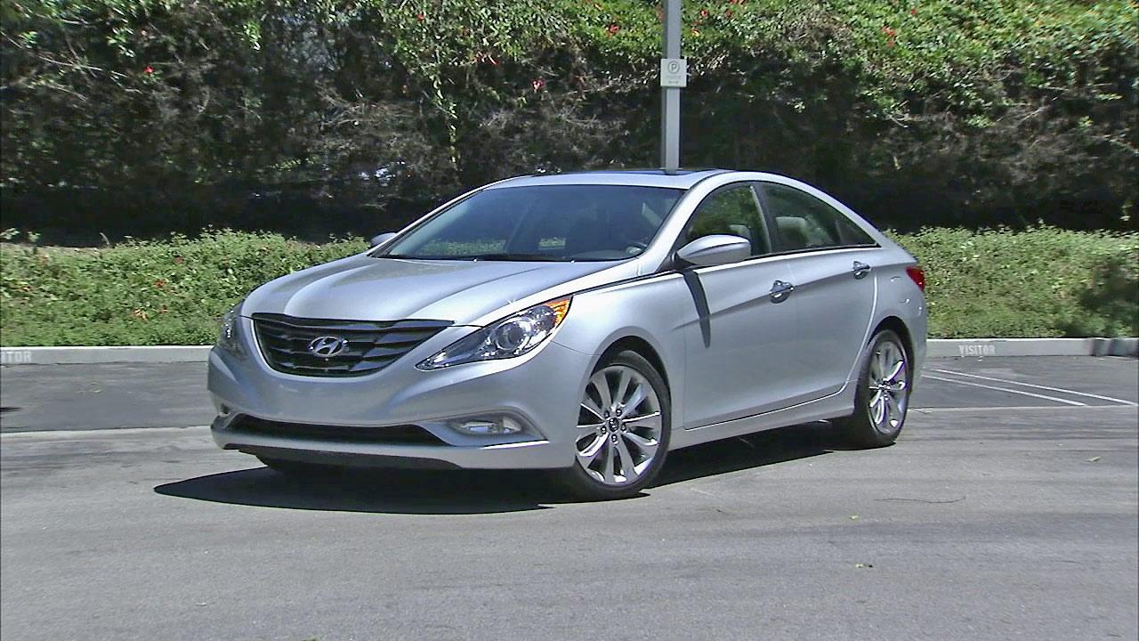 The Hyundai Sonata is seen in this file photo.