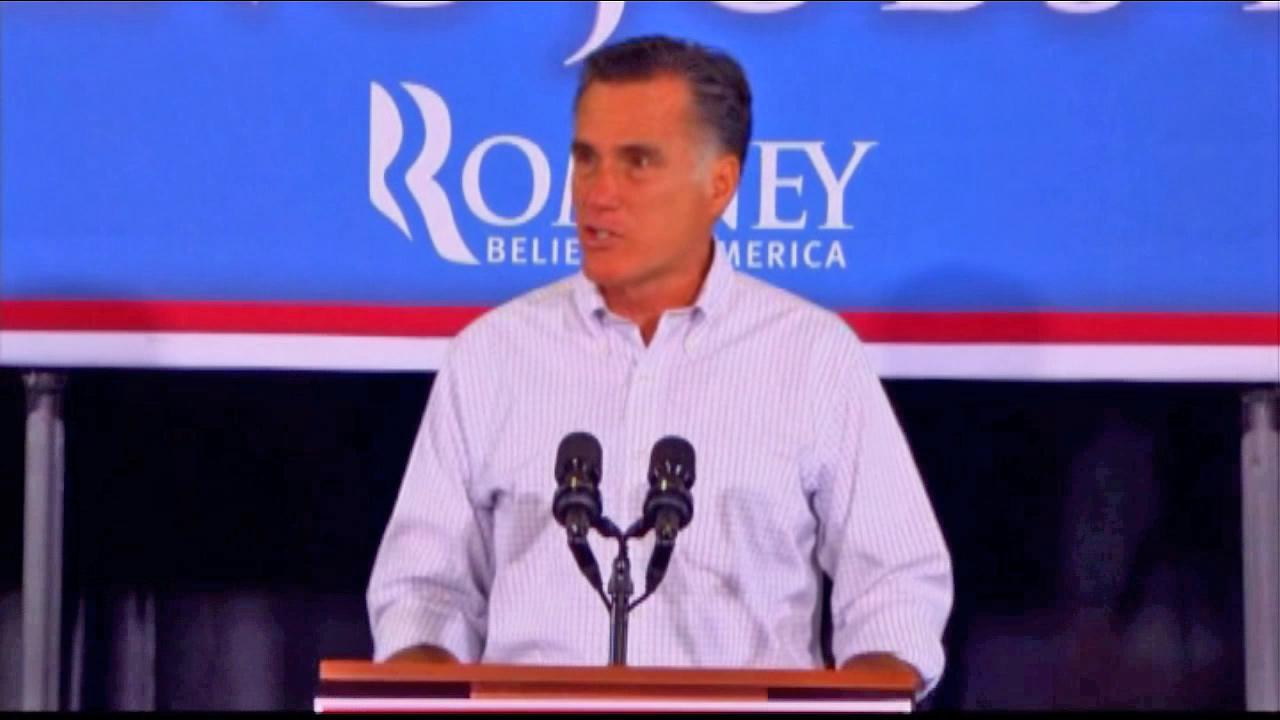 Mitt Romney is seen in this undated file photo.