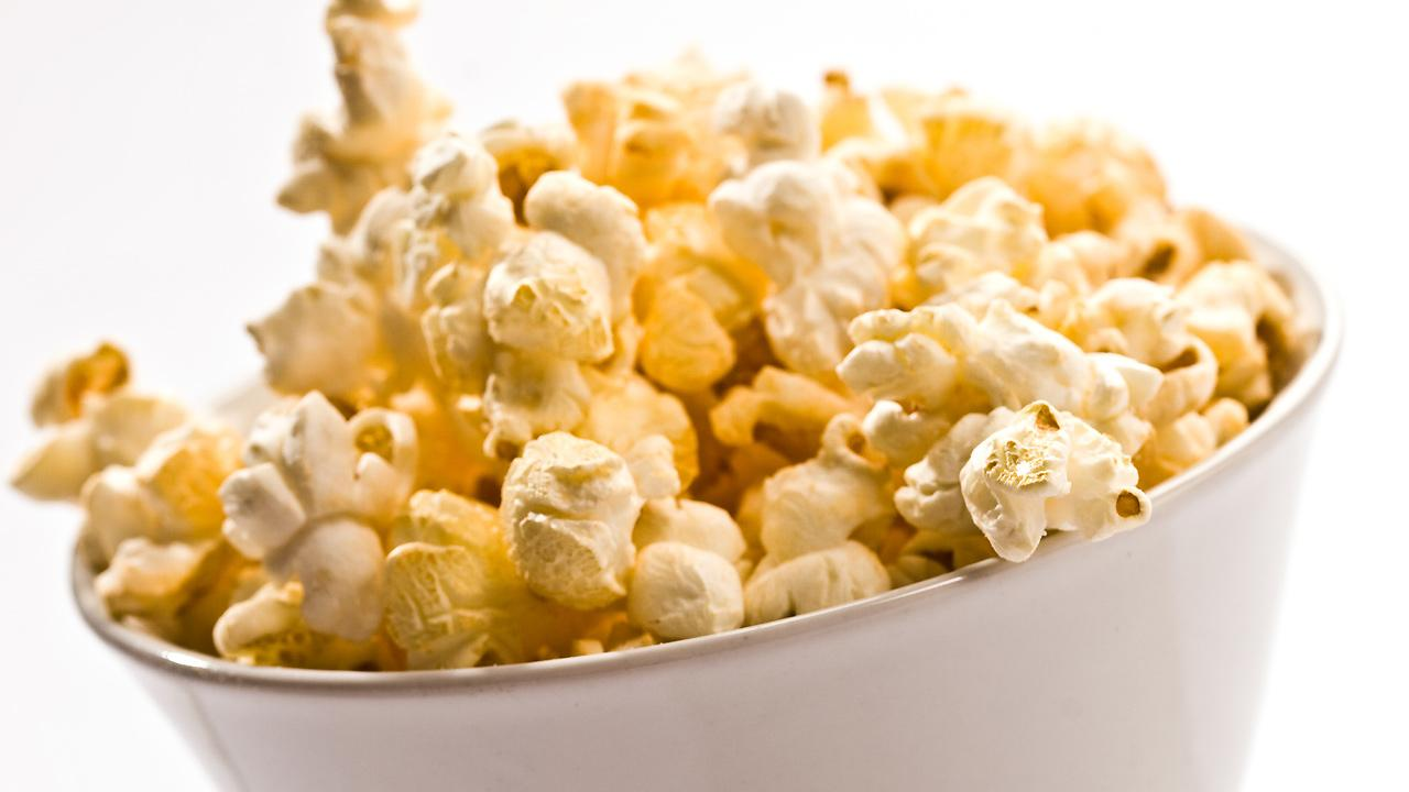 A bowl of popcorn is seen in this file photo.