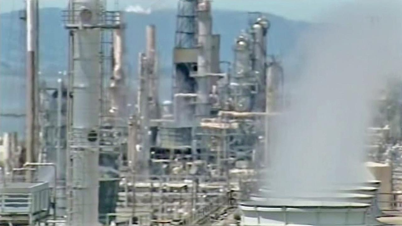 A refinery is seen in this undated file photo.