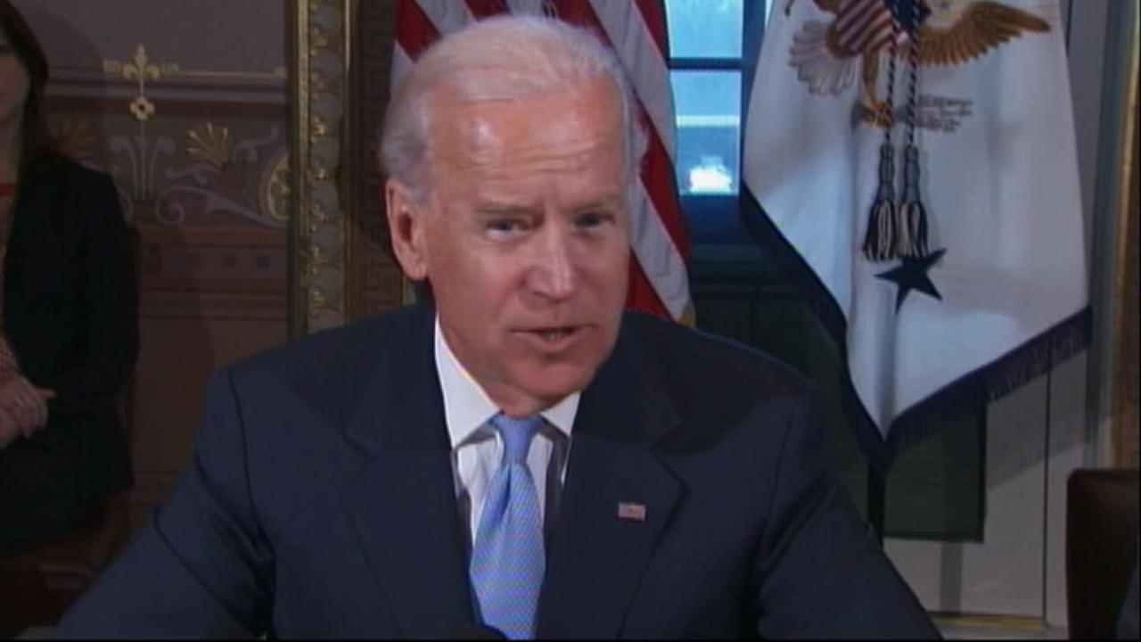 Vice President Joe Biden is seen in this undated file photo.