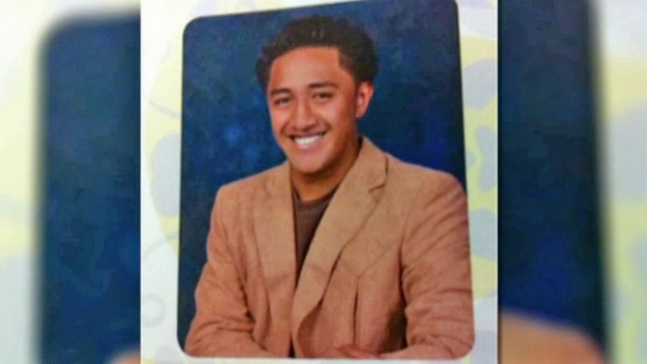 Ronaiah Tuiasosopo is seen in a yearbook photo.