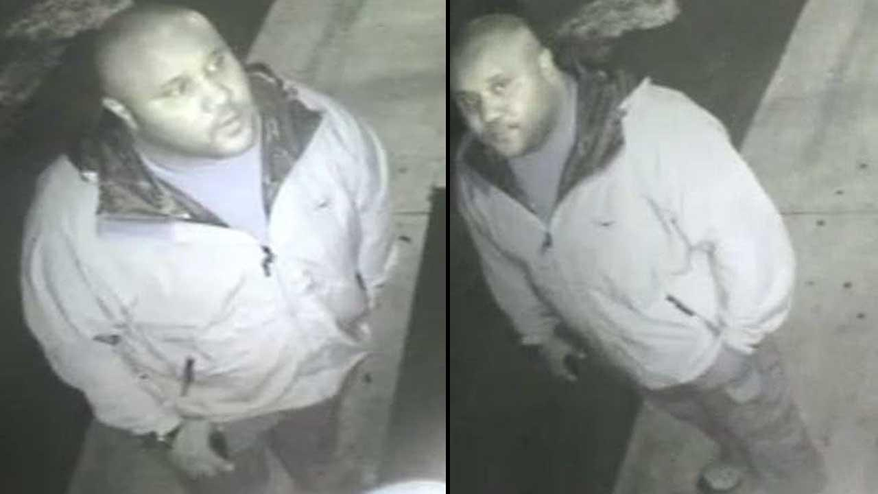 Christopher Dorner is seen in surveillance footage captured in Irvine on January 28
