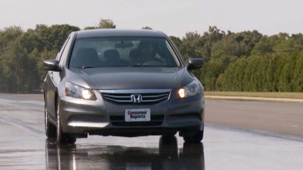 File photo of a 2013 Honda Accord in a performance test conducted by Consumer Reports.