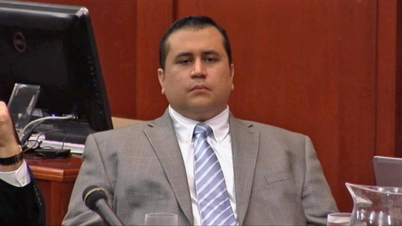 George Zimmerman is seen in court Thursday, July 11, 2013.