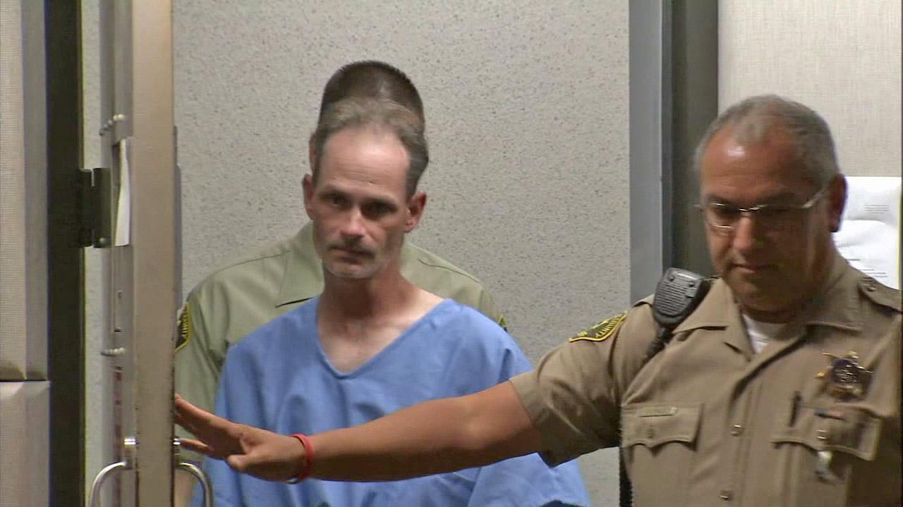 Nathan Campbell, who is suspected of driving into a crowd of people on the Venice Beach boardwalk Saturday, Aug. 3, 2013, is seen in court on Tuesday, Aug. 6, 2013.