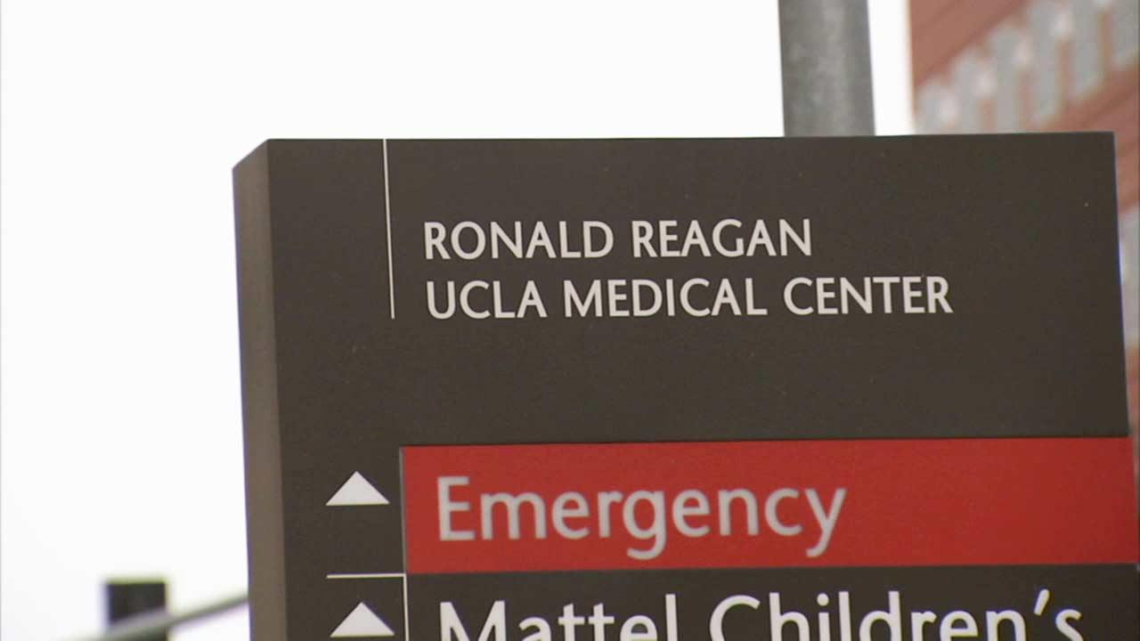 Ronald Reagan UCLA Medical Center in Los Angeles is seen in this file photo.