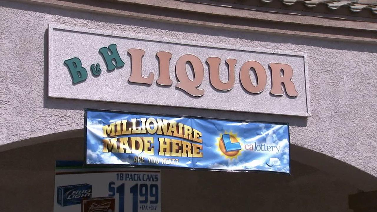 B & H Liquor in Norwalk.