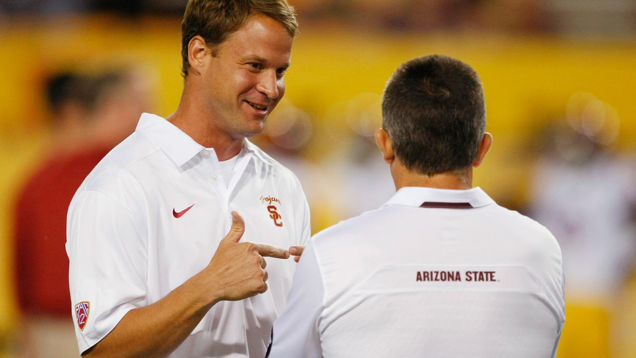 Usc Football Coach Lane Kiffin Fired After Asu Loss Abc7 Com