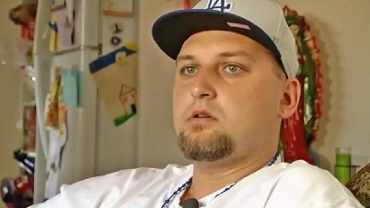 Robert Preece, brother of Jonathan Denver, a Dodgers fan who was stabbed after a Giants game in September 2013, is seen in this undated file photo.