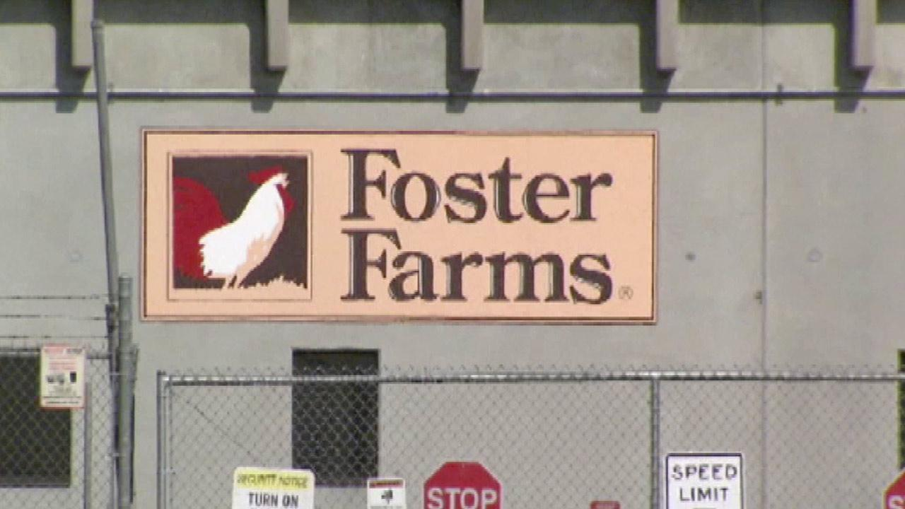 A Foster Farms sign is seen in this undated file photo.