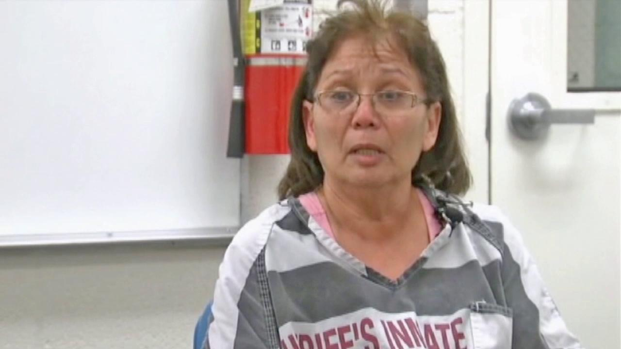 SanJuanita Carbajal is seen in a still from an Oct. 2013 jailhouse interview.